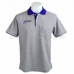 เสื้อโปโล สีเทา JPART